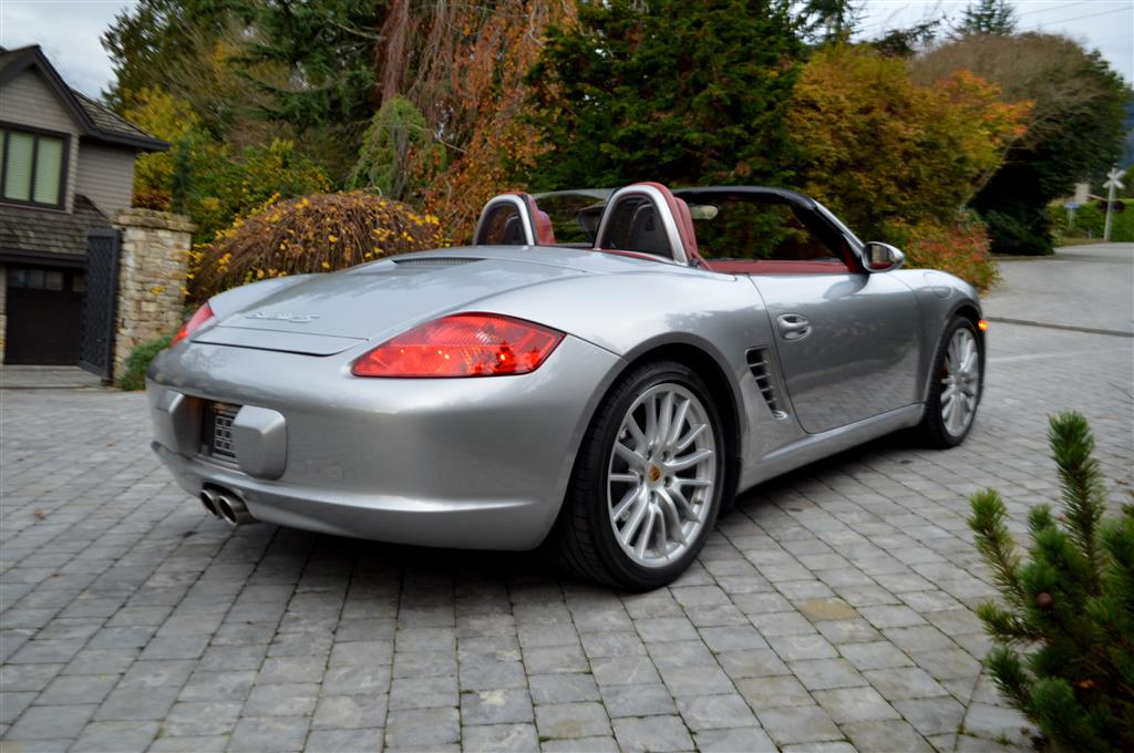 2008 Porsche Boxster Rs 60 Spyder Vehicles For Sale The Urban Garage
