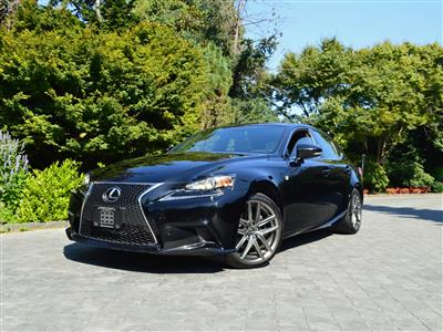 2014 Lexus IS 250 AWD F Sport Premium