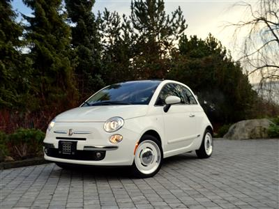 2015 Fiat 500C Lounge Convertible 1957 Edition