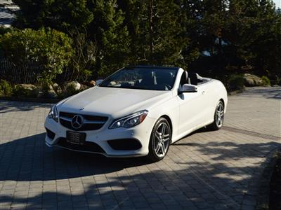 2017 Mercedes-Benz E400 Cabriolet, AMG package