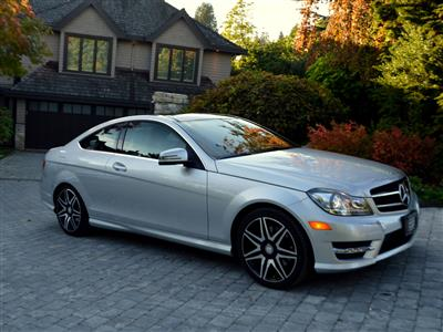 2015 Mercedes-Benz C-Class C350 4-MATIC Coupe