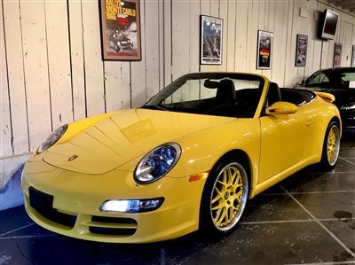 2005 Porsche 911 Carrera Cabriolet Supercharged