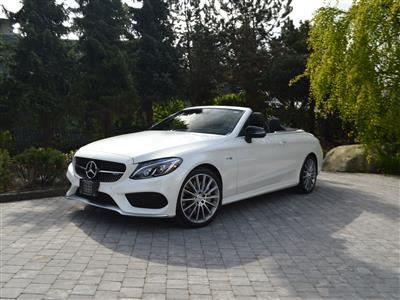 2017 Mercedes-Benz C43 AMG Convertible